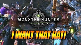 I WANT THAT HAT! : Max Plays - MONSTER HUNTER WORLD (Ep 4)