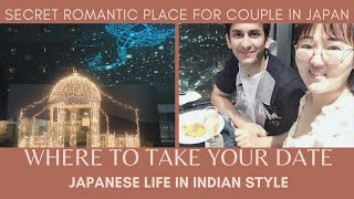 How to Impress the first date || Secret Romantic Place for A First Date in Japan Kyoto | Indian Life