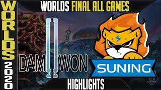 DWG vs SN Highlights ALL GAMES   GRAND FINAL Worlds 2020 Playoffs   Damwon Gaming vs Suning