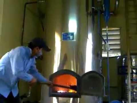 Video Lò hơi đốt than ống lửa đứng