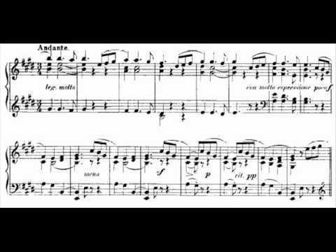 Granados, danza española n.5 - Andaluza
