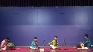 Tiruvarur Vaidyanathan Students Accompanying Vittal Ramamurthy Students at NJ