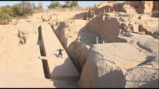Megalityczny obelisk Asuan Quarry Część pierwsza-nagranie w j.rosyjskim