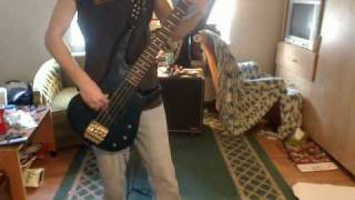 Anvil - Never Decieve Me ((BASS COVER))