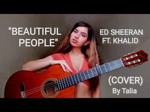 Ed Sheeran - Beautiful People (feat. Khalid) | COVER by Talia