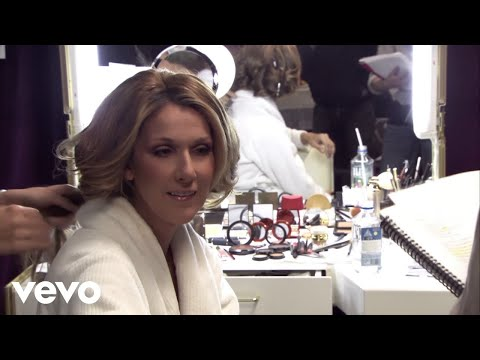 "Céline Dion - Dressing Room Rehearsal (from the film ""Through The Eyes Of The World"")"