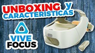 Todo sobre HTC VIVE FOCUS | Unboxing y Características