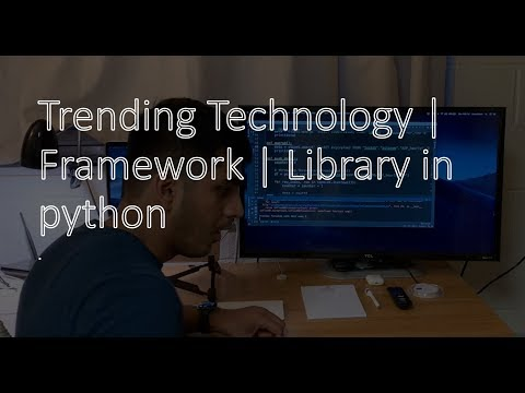 Trending Technology | Framework | Library in Python that you should learn