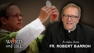 Bishop Barron on the Real Presence of Christ in the Eucharist