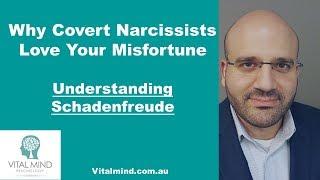 Why Covert Narcissists Love Your Misfortune (Understanding Schadenfreude)