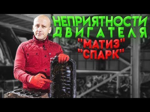Фото к видео: Пробитая прокладка ГБЦ и другие неприятности двигателя для Матиза и Спарка.