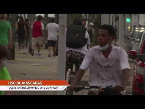População descumpre determinações do Governo de Pernambuco na orla de Boa Viagem