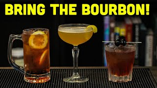 Easy Bourbon Cocktails To Make At Home