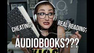 """ARE AUDIOBOOKS CONSIDERED """"REAL READING""""?"""