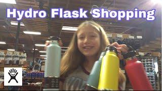 Hydro Flask Shopping! *stressful* 🙈😂