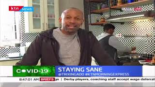 KTN News Anchor Mike Gitonga\'s Work From Home (WFH) programme