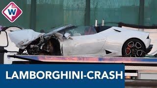 Huurder gecrashte Lamborghini moet binnen een maand twee ton betalen - OMROEP WEST