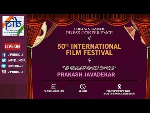 Curtain Raiser PC of 50th IFFI by Union Minister Prakash Javadekar