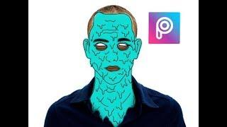 Simple Grime Art - Picsart Tutorial