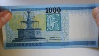 New money 2018 Hungarian 1000 Forint