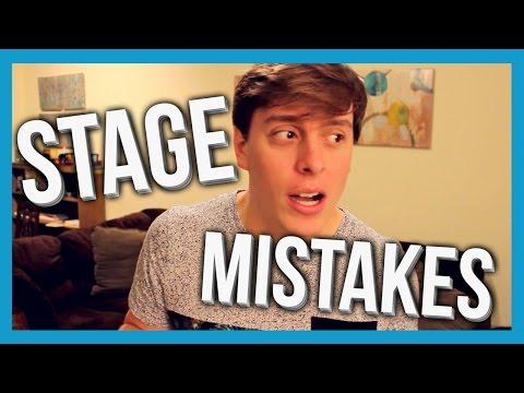 Stage Mistakes | Thomas Sanders