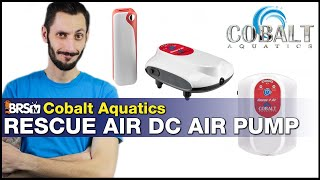 Cobalt Aquatics Rescue Air: Reef Aquarium or QT Emergency? Last minute air pump protection is ready.
