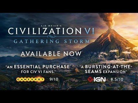 Sid Meiers Civilization VI: Gathering Storm Para PC / Actualizado 2019