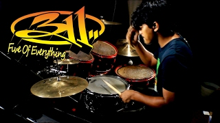 311 - Five Of Everything - Drum Cover by DiGgFreaK