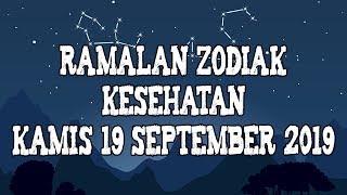 Ramalan Zodiak Kesehatan Kamis 19 September 2019