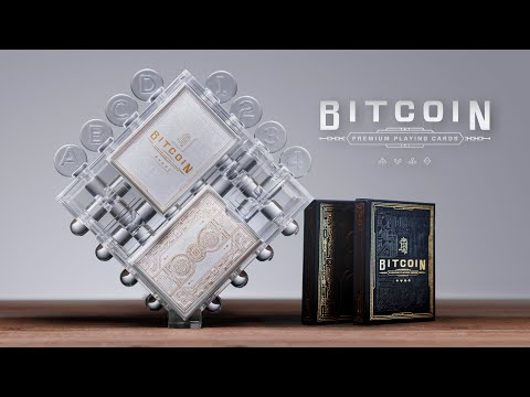 Bitcoin Puzzle Playing Cards | OVER 500% Funded on Kickstarter