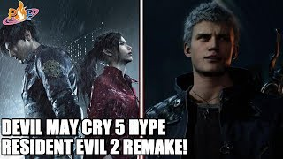 Arena of Valor Exclusive Switch Content, Resident Evil 2 Clair Info & Devil May Cry 5 Gameplay HYPE!