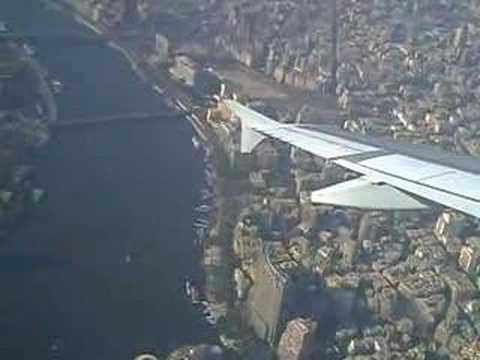 Luchtbeeld van de stad