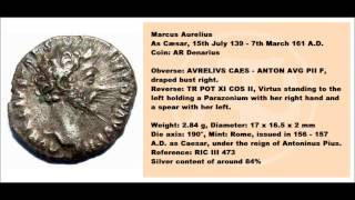 Roman Coins: The Denarius Silver Content Over Time