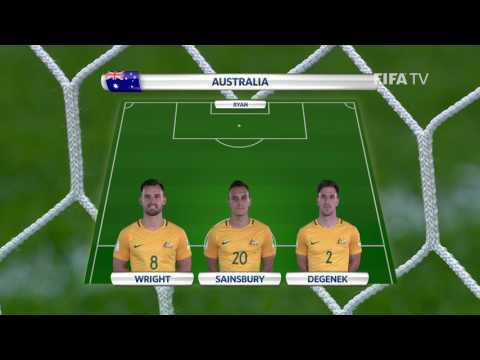 Match 7: Cameroon v. Australia -Team Lineups - FIFA Confederations Cup 2017