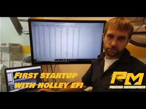 First startup procedures with your Holley EFI