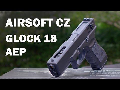 Zkouška AEP GLOCK 18C