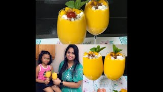 #MangoDrinks |#MangoLassi|#SummerDrinks |Mango Lassi |Summer Drinks | How to make thick Mango Lassi