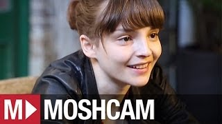 CHVRCHES talk synth, sex clubs and new songs | Moshcam