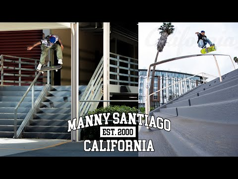 """preview image for Manny Santiago's """"California"""" Part"""