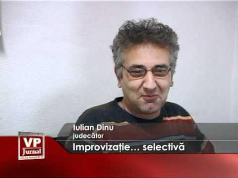 Improvizatie… selectiva