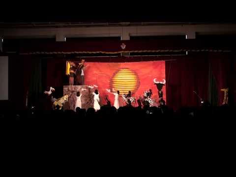 文化祭 演劇 ライオンキング  劇団6組  亀岡高校文化祭2015