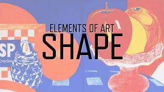 Elements Of Art: Shape | KQED Arts