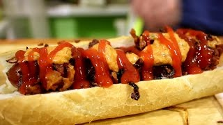 Смотреть онлайн Рецепт хот-дога: готовим дома