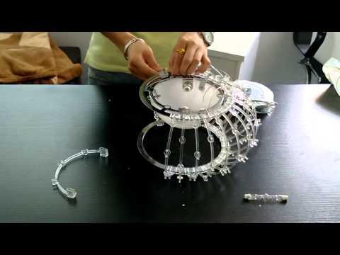Caboche Suspension Acrylic Ball Installation Video 1