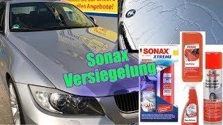 Test + Erfahrung   Sonax 222100 XTREME Glanzversiegelung   Flugrostentferner 513200   Sonax  Politur