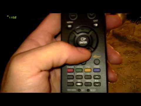 Samsung Service menu code to factory reset TV