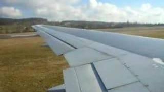 preview picture of video 'Anflug auf Zürich / Kloten Teil 5 Landung'