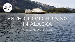 Expedition cruising in Alaska