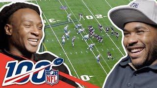 Steve Smith Sr. & DeAndre Hopkins Compare Smack Talk!   NFL 100 Generations