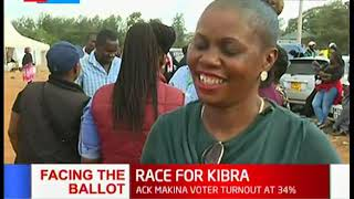 Kibra residents assure Kenyans that they will accept the results no matter the outcome